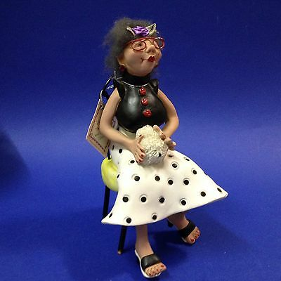 Oh You Doll! by Nancye Williams - Gloria -Hand Crafted Collectible, Orig Label
