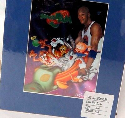 Limited Edition Lithograph Space Jam Michael Jordan Upper Deck Warner Brothers