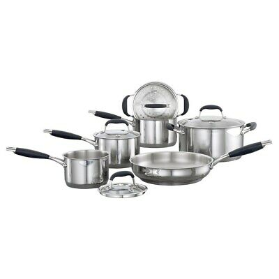 New Baccarat Capri + Stainless Steel Cookware Set 6 Piece