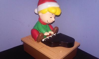 2011 Hallmark Wireless Peanuts Band SCHROEDER ON THE PIANO – Hard To Find TESTED