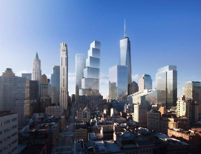 ONE WORLD TRADE CENTER GLOSSY POSTER PICTURE PHOTO PRINT new york wtc usa 3142