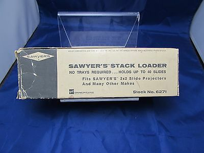 Vintage Sawyer's Stack Loader - No Trays Required - Holds up to 40 Slides