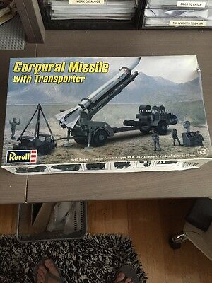 Revell Model Kit Corporal Missile With Transporter Us Army New 1:40 Scale