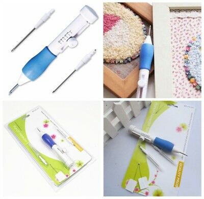 Clothing Punch Needle DIY Embroidery Magic Embroidery Pen 1.3/1.6/2.2mm Diameter