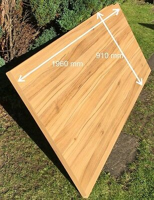 oak wooden worktop offcuts solid wood surfaces 4 pieces. Black Bedroom Furniture Sets. Home Design Ideas