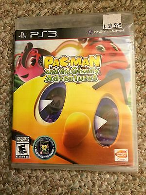 Pac-Man - And The Ghostly Adventures (Sony PS3) *BRAND NEW*