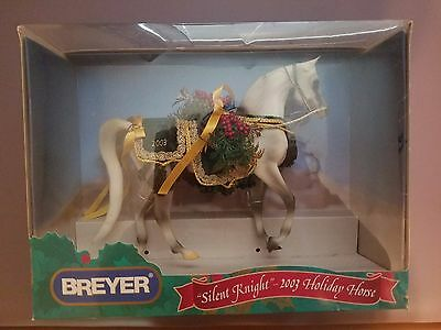 Breyer Silent Knight 2003 Holiday Horse