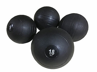 Slam Ball No Bounce Crossfit Workout Mma Boxing Fitness Home Gym Heavy Core Abs