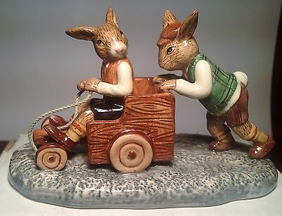 Royal Doulton Billycart Bunnykins Model DB491 Limited Edition PERFECT