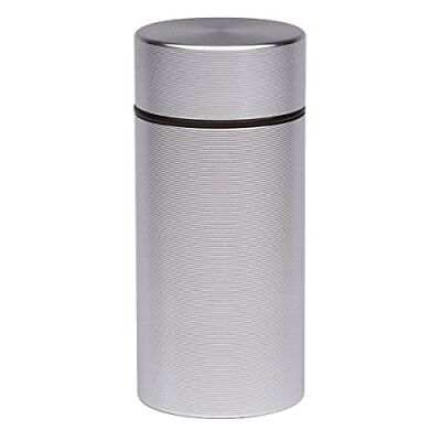 Stash Jar Airtight Smell Proof Aluminum Herb Container Waterproof Top Lid Lock