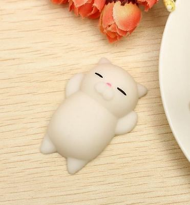 Squishy Toy Cat Kitten Animal Squeeze Slow Rising Phone Accessory Cute Kawaii