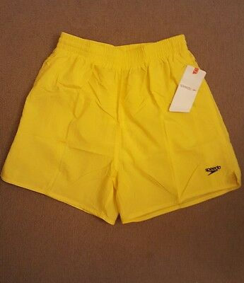 SPEEDO mens Solid Leisure Short Swimming mens small Brand New with tags
