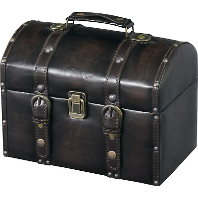 New Cosmetic Carry Makeup Case Bag Trunk Box Synthetic Leather Finish IW-875