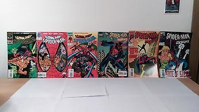 Marvel Comics The Lethal Foes Of Spider-Man And 2099 Good Condition 1993 USED