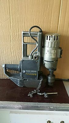 Magnetic Drill Press Black&decker #1556 3/4 Chuck