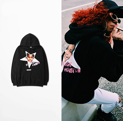 Europe and the street Hiphop Loose Sweater Printing OVERSIZE HOODIE
