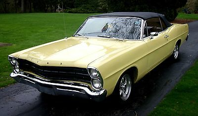 1967 Ford Galaxie  1967 Ford Galaxie 500 Convertible #'s matching Sharp Must See!