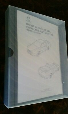 HOLDEN VY VZ Commodore Ute Inc SS Electrical Wiring Diagrams Service Manual Book