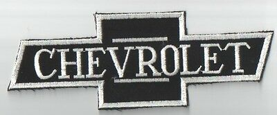 Chevrolet Logo Embroidered Patch Vintage But Virgin Sew On Unused