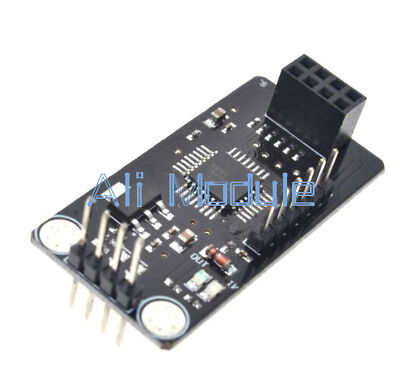 2PCS ATMEGA48+NRF24L01+ wireless Shield module SPI to IIC I2C TWI Interface