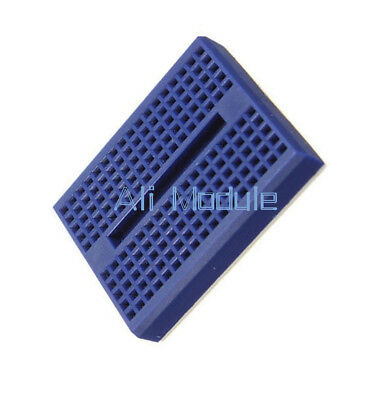2Pcs Blue Solderless Prototype Breadboard 170 Tie-points for Arduino Shield