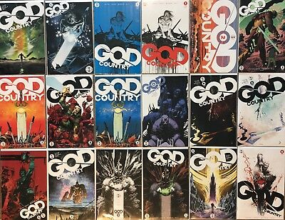 GOD COUNTRY issues #1-6 Complete NM 1st Print Image Comics Series with Variants!