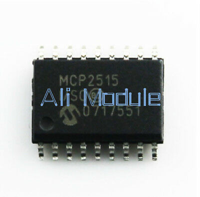 2PCS MCP2515-I//SO SOP-18 Stand-Alone CAN Controller NEW