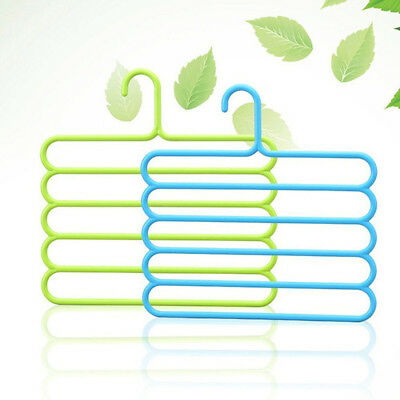 Pants Trousers Hanging Clothes Hanger Layers Clothing Storage Hanger KDHU6