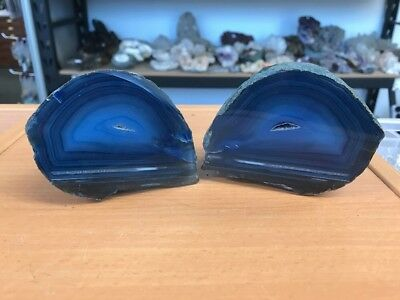 Amazing 830 Gram High Quality Agate Pair - From Brazil (#0391)