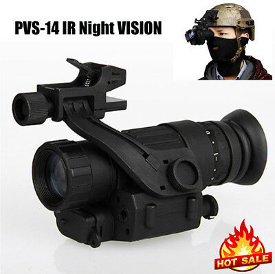 Fixed on Helmet Military Night Vision Monocular Telescope Video Photo Record ST