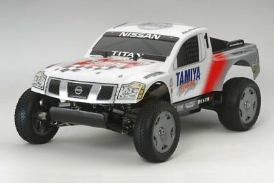 Tamiya 58511 1/12 RC NISSAN TITAN DT02 Chassis Racing Truck w/ESC
