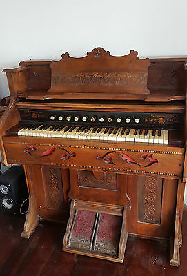 Antique Church Pump Organ circa 1870 - 1890