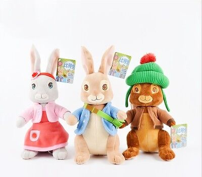 Toy Rabbit Peter Soft Plush 30cm 100% Cotton