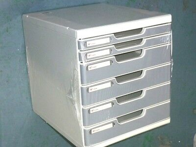 Shutter desktop organiser A4 multiform cabinet filling cabinet document tray box