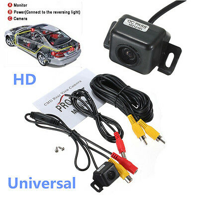 Car HD Rear View Parking Reverse Backup Reversing Camera Kits With Night Vision