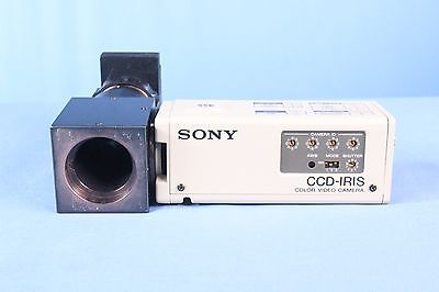 Sony CCD-IRIS Color Video Camera with Warranty