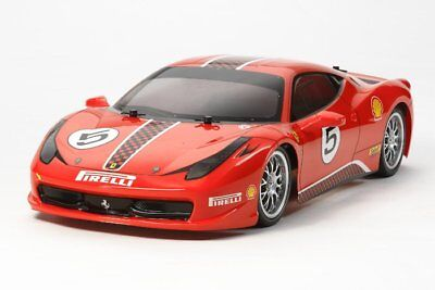 Tamiya 58560 1/10 RC Ferrari 458 Challenge TT02 On Road Car