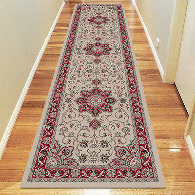 Dynasty Flowers Design Traditional Floor Runners in 80 x 150 cm FREE SHIPPING