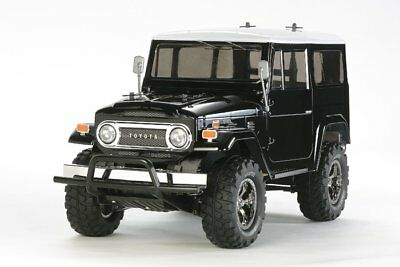 Tamiya 58564 1/10 RC Toyota Land Cruiser 40 CC01 Black Sp. Painted Body