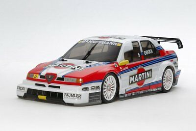 Tamiya 58606 1/10 RC Alfa Romeo 155 V6 TI - TT-02 Martini On Road Car