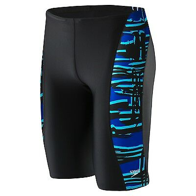 Speedo Men Boys PowerFLEX Eco Must Be It Jammer Competition Swimsuit List $49