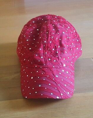 Rhinestone Glitter Sequin Baseball Cap Hat Bling Sparkly Women Summer Sun Golf