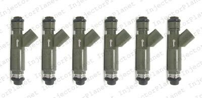 Set of 6 Denso Fuel injector Ford Part # YF1E-A2C / 195500-3340