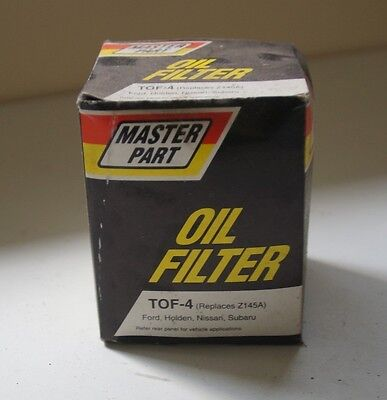 Master Part oil filter TOF-4 (replaces Z145A)