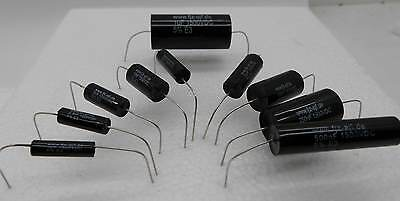Assortiment 100 condensateurs HT 1500V, 1nF à 1µF pour la restauration radio etc