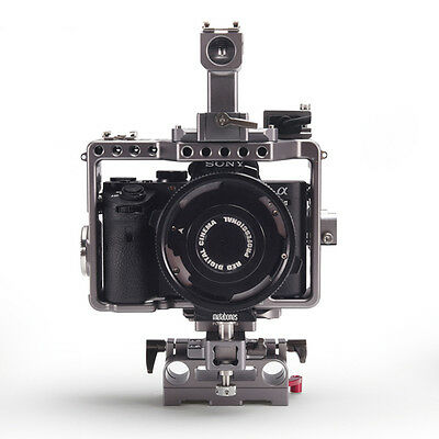 TILTA ES-T17 Sony Alpha A7S II A7R Mark 2 rig Cage 15mm rod release baseplate