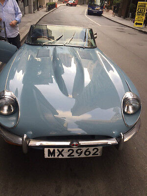 1969 Jaguar E-Type Chrome 1969 Jaguar E-Type Convertible - 4.2 Litre Engine - Excellent Condition