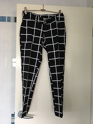 NEW Ladies Belted Golf Pant (ankle length)  Size US) - Generou Size 8 Australian