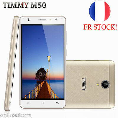 "NEUF 5"" IPS 4G Smartphone Android 6.0 2+16Go Téléphone QuadCore 1.3GHz 2*SIM 8MP"