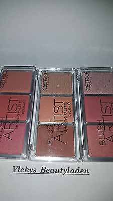 Catrice Blush Artist Shading Palette Rouge Farbwahl